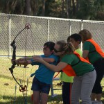 Military 4-H Volunteers Hit the Bullseye