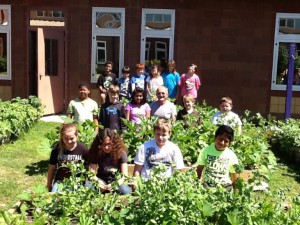 4-H School Gardens reach youth who do not have access to 4-H Clubs