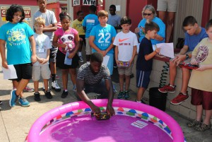 More than 60 youth participated in the district Junk Drawer Robotics Challenge this summer.