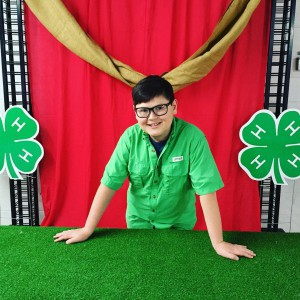 4-H has given Cass Dillard the confidence to deliver his first illustrated talk at the Washington County 4-H Events.