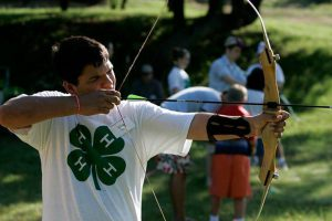 Camp is a safe place to try new things like archery. Photo credit: UF IFAS Florida 4-H.
