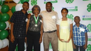 Mrs. Scurry was accompanied by one of her sons and three of her grandchildren, representing 3 generations of 4-H!