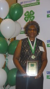 Mrs. Ruth Ann Scurry, 2016 Florida 4-H Hall of Fame Inductee