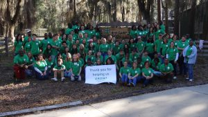 Over 70 teens from across the panhandle participated in last year's retreat, sponsored by Farm Credit of NW FL.