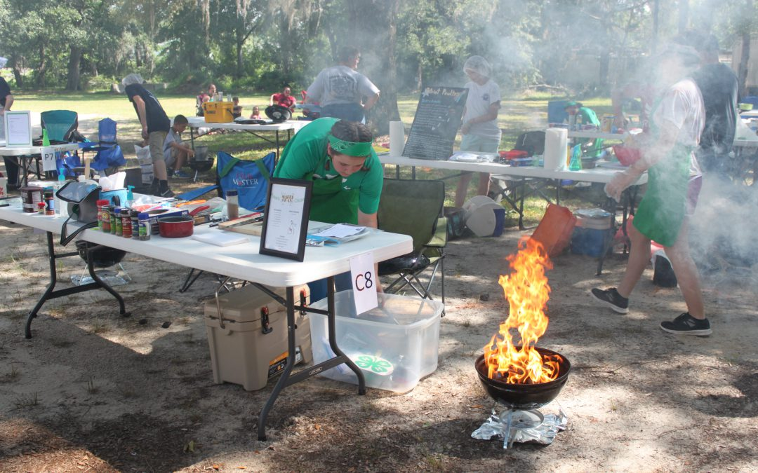 Grilling for Success: The Florida 4-H Tailgating Contest