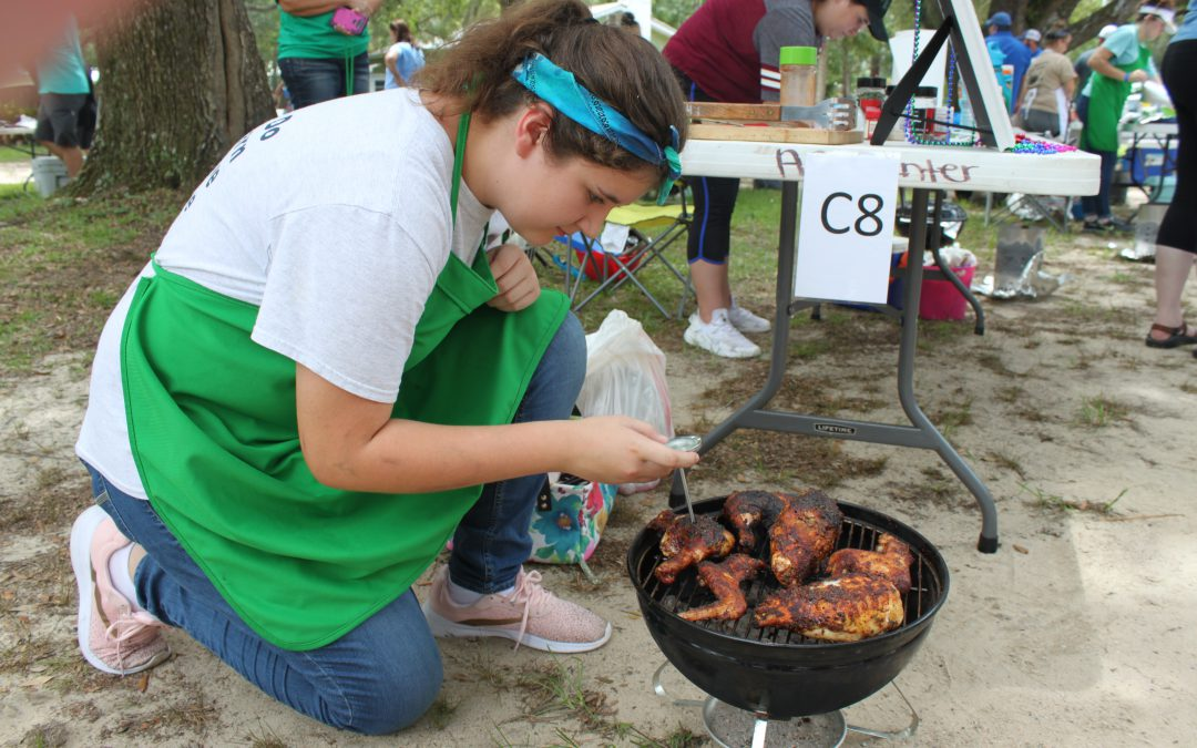 NW District Youth Compete at the FL 4-H State Tailgating Contest