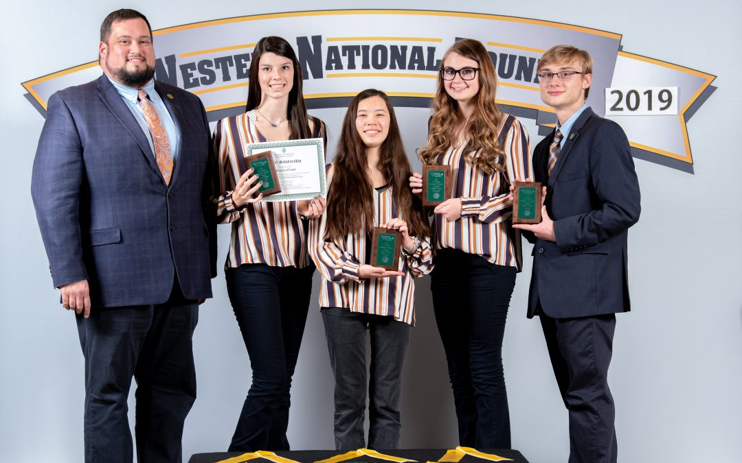 Escambia 4-H Judging Team Places at National Contest