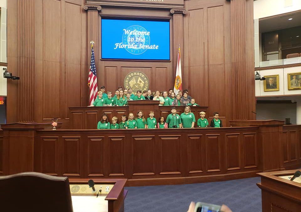 4-H Youth Turn the Florida Capitol Green for a Day!