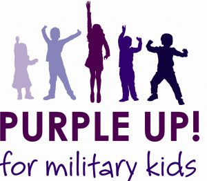 image of children in purple