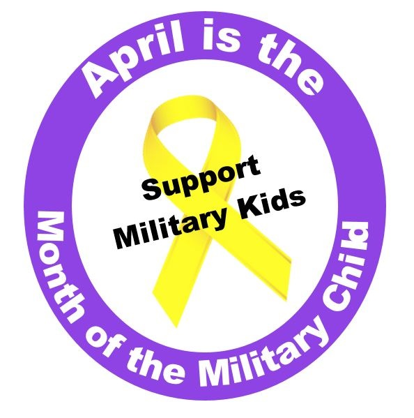 April – Month of the Military Child – Purple Up! for Military Kids