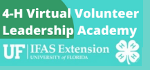 Updated Changes to our 4-H Virtual Volunteer Leadership Academy