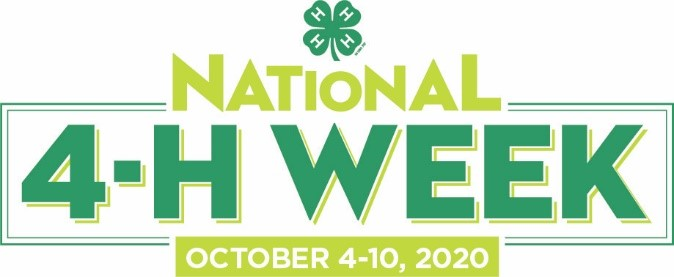National 4-H Week Logo