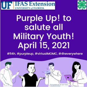 Purple poster of youth