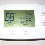 Set your thermostat to 68 degrees or lower in the winter to reduce heating costs.