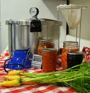 Low-Acid Canning requires a Pressure Canner
