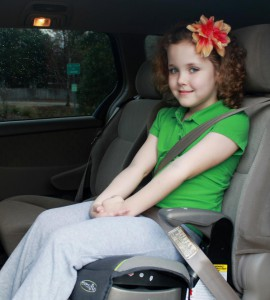 New bill would require booster seats for children four years old through age five.