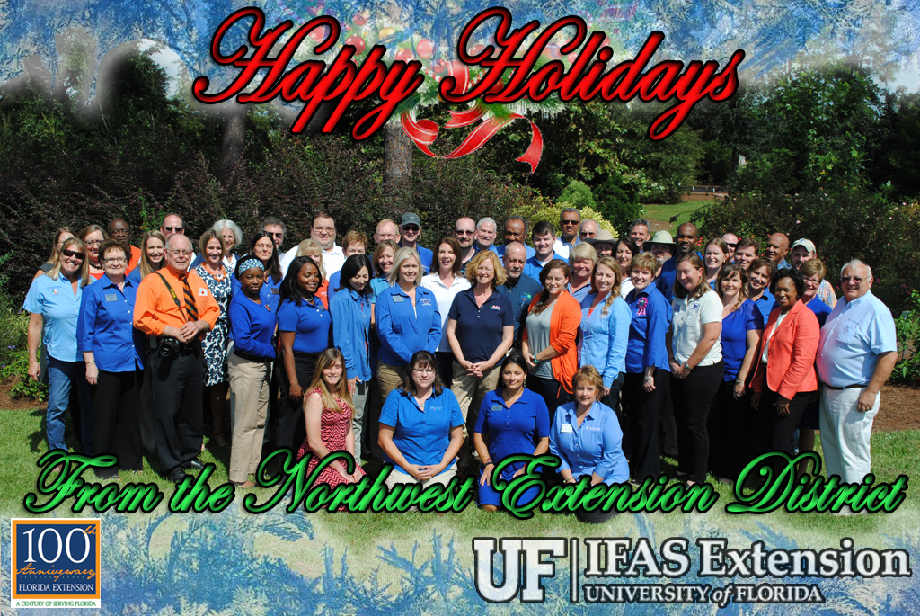 Thank you from the UF/IFAS Extension Northwest District