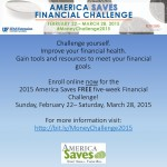 America Saves Week ~ Online Challenge