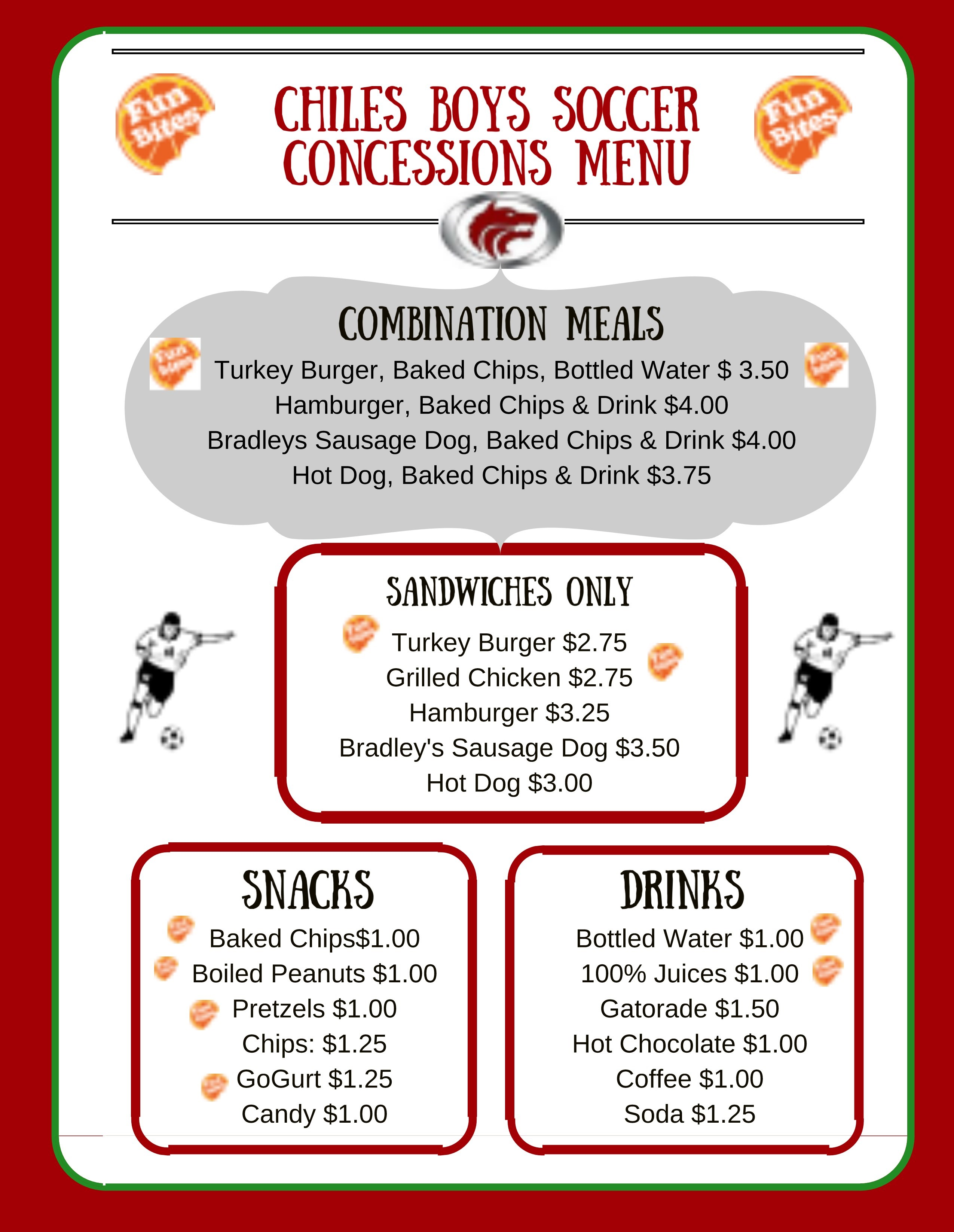 Healthy Concession Stands Living Well In The Panhandle