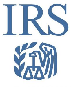 IRS logo with Eagle symbol