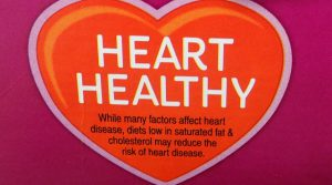 Picture of a Heart Healthy front of the box label