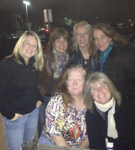 a group of soccer moms