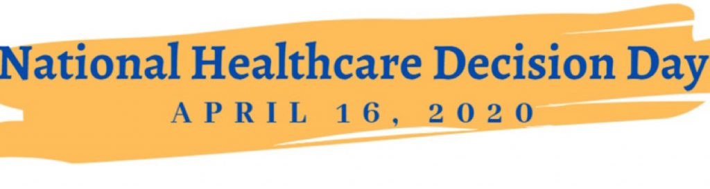 National Healthcare Decision Day logo