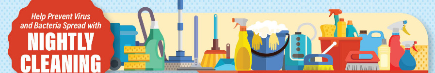 Nightly Cleaning Tips During COVID-19