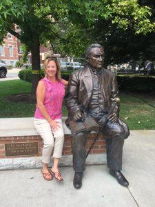 Kendra at Purdue University