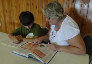 Help children develop good study habits