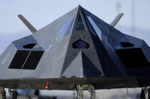 An F-117 Nighthawk. Photo Credit: Staff Sgt. Jason Colbert, U.S. Air Force.