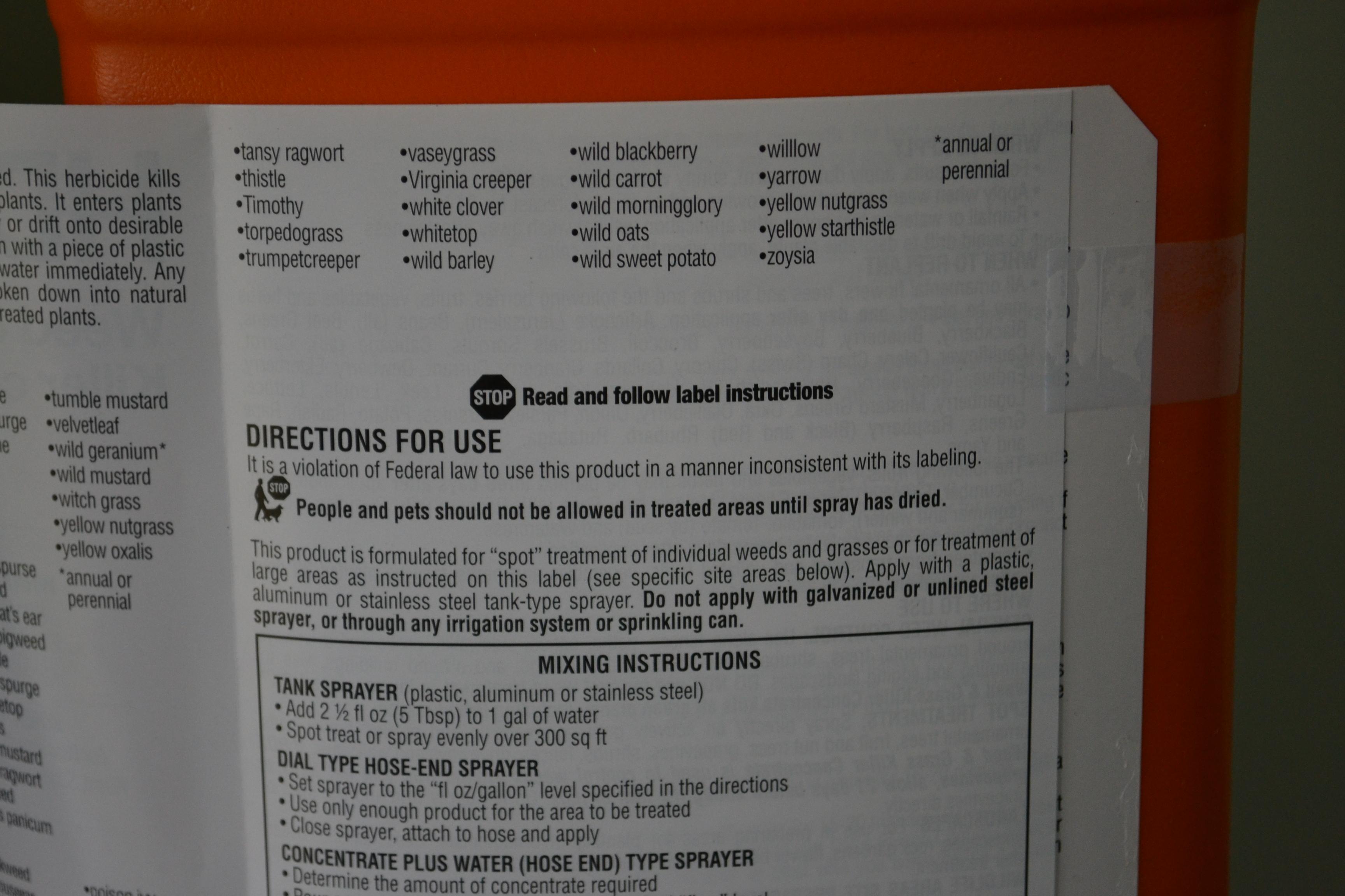 Pesticide Safety Tips
