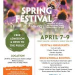 Spring Festival of Flowers April 7-9, 2017!