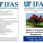 Crapemyrtle Research and Disease Management Update: Thursday,October 31; FL Pesticide and FNGLA CEUs available