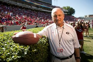 Former UGA Football Coach and Horticulture enthusiast, Vince Dooley -  http://sports.espn.go.com/ncf/news/story?id=4552978