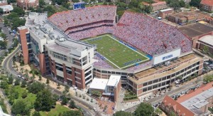 "Ben Hill Griffin Stadium or ""The Swamp"" - http://www.gatorzone.com/facilities/?venue=swamp&sport=footb"