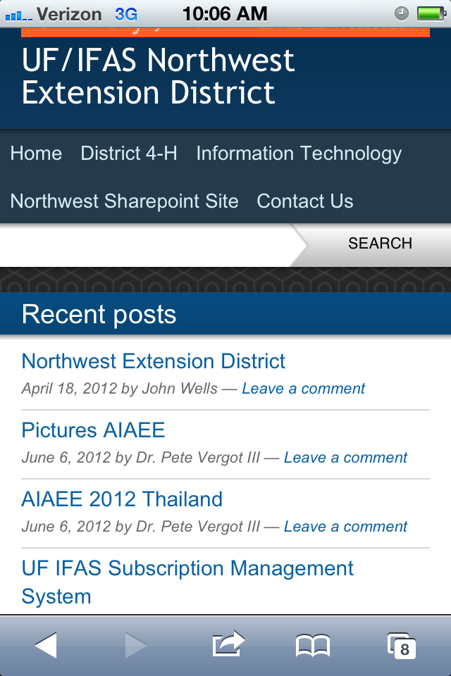 New Mobile Website for District Coming Soon!