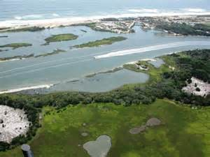 This area along Florida's east coast is experiencing coastal flooding. Photo: University of Florida