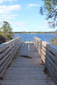 This public kayak ramp is found on the north side of Perdido Key. From here the paddler can visit several small islets and snorkel grassbeds. The ICW is narrow here though so you need to be aware of large boat traffic.