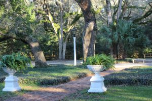Eden Garden State park is located north of Highway 98 in south Walton County. Is borders the south side of the ICW near Choctawhatchee Bay. It is a beautiful place.