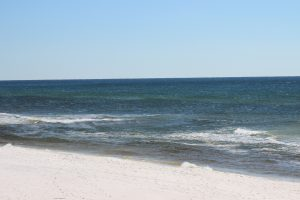 The Gulf of Mexico in south Walton County.