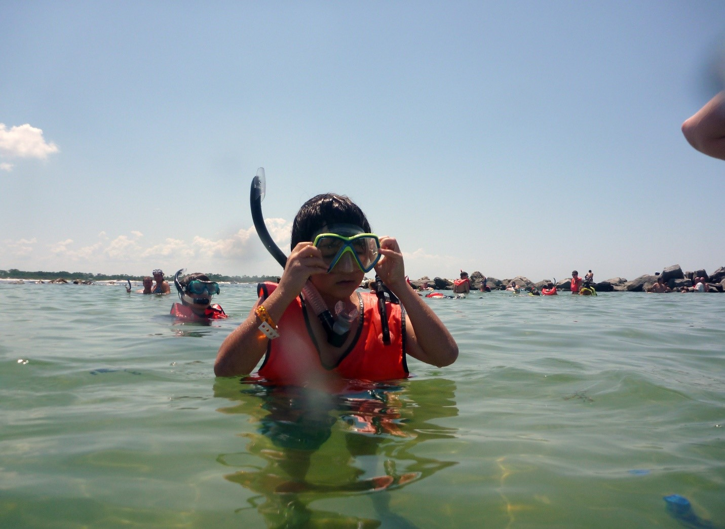 Snorkeling Safety at the Jetty