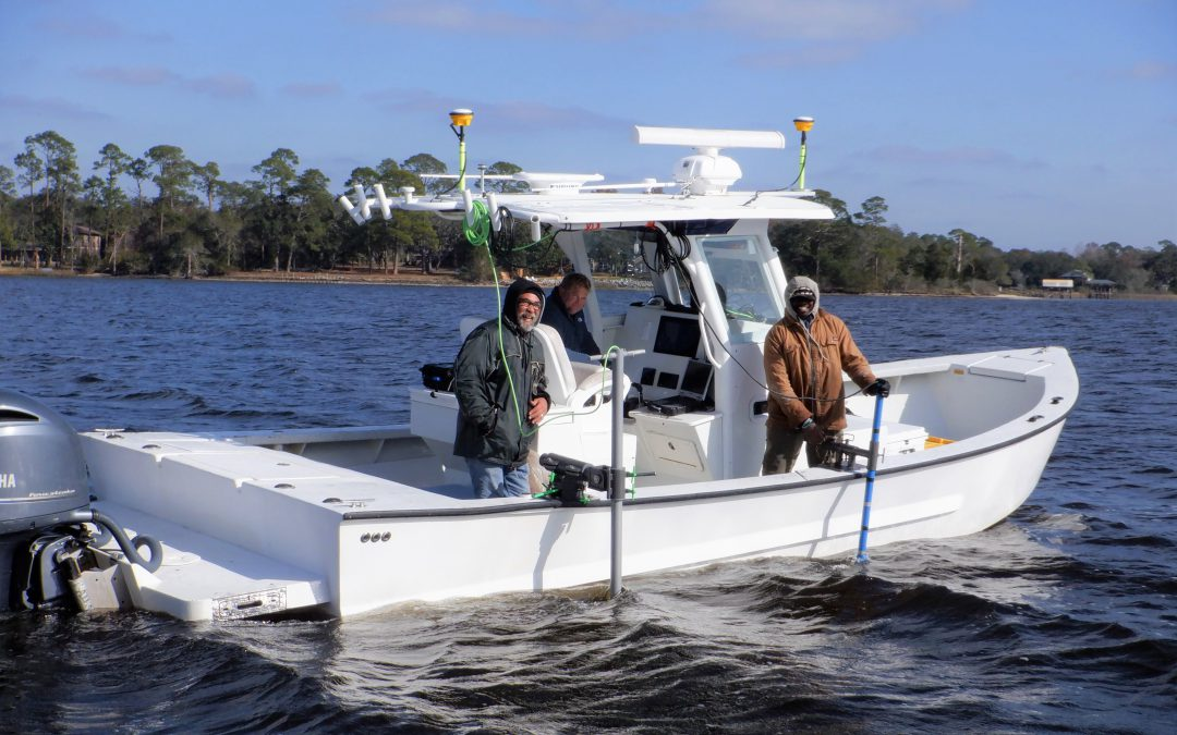 Oyster Reef Mapping in the Pensacola Bay System, how is oyster reef mapping done?