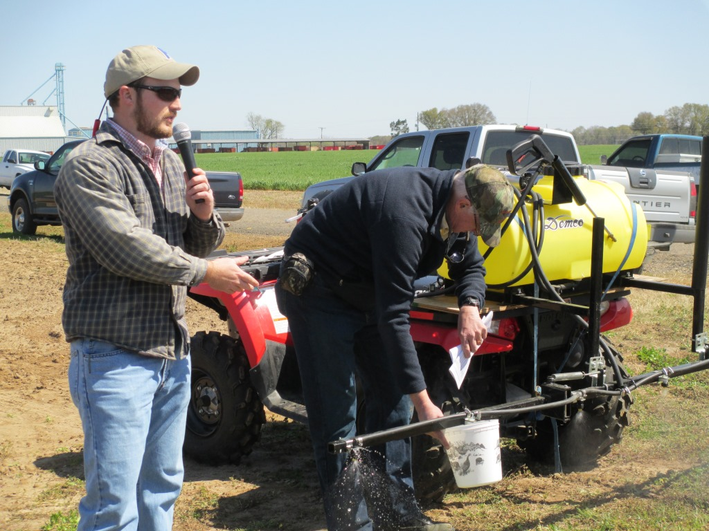 It is important to calibrate your pesticide applicators on a regular basis especially as you head into the new crop season.