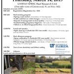 NFREC Beef Forage Field Day 2013