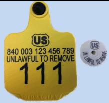 USDA RFID Tag