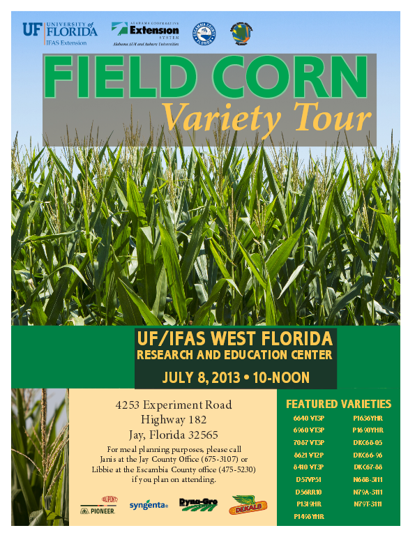 Field Corn Variety Tour