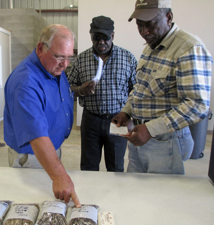 AFG Feed is making cattle feeds from peanut, cotton, and corn byproducts from local farms.