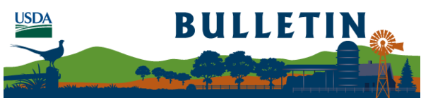 USDA FSA Bulletin