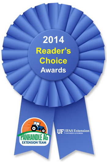 2014 Reader's Choice Award